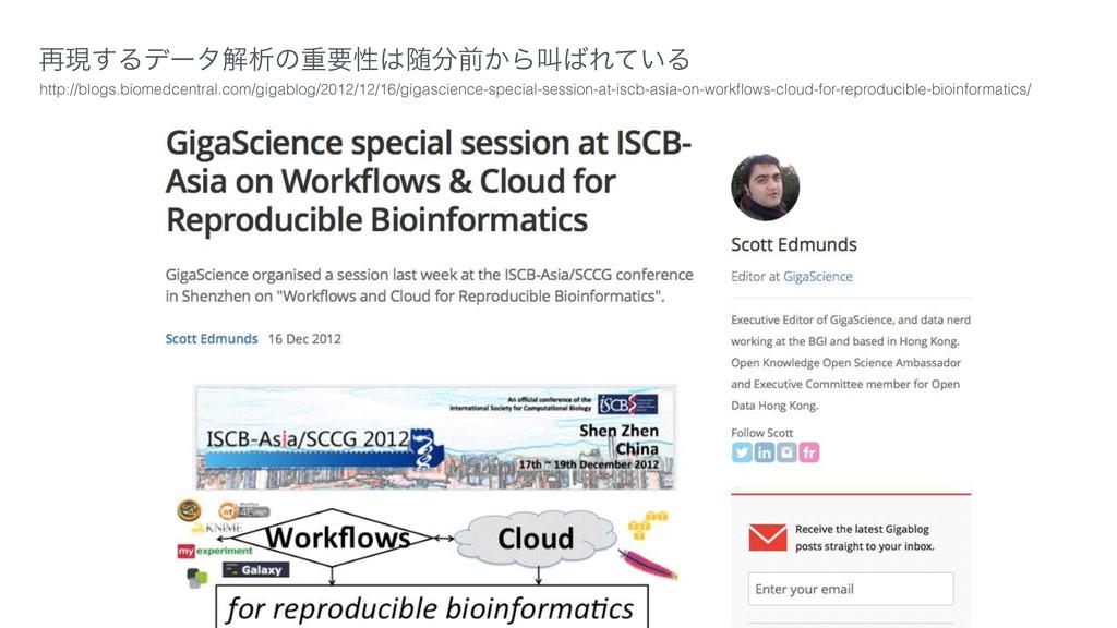 ࠶ݱ͢Δσʔλղੳͷॏཁੑਵલ͔ΒڣΕ͍ͯΔ http://blogs.biomedce...