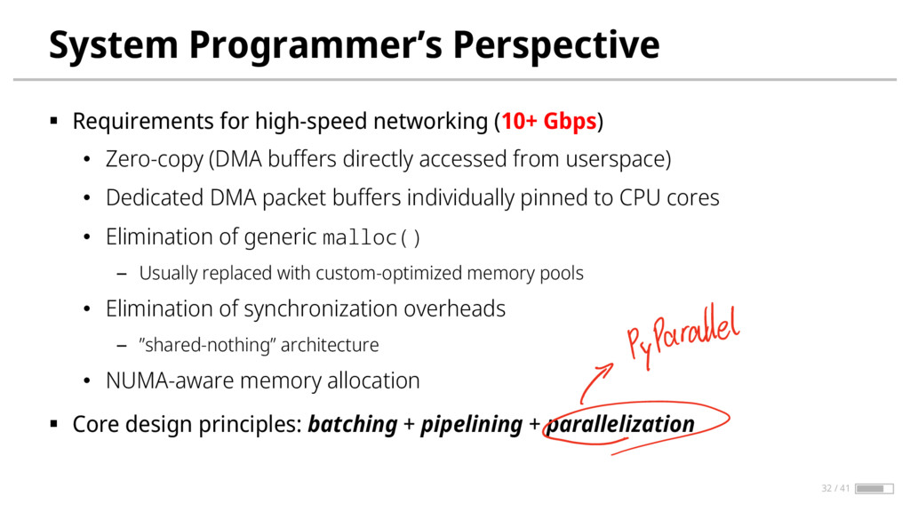 System Programmer's Perspective § Requirements ...