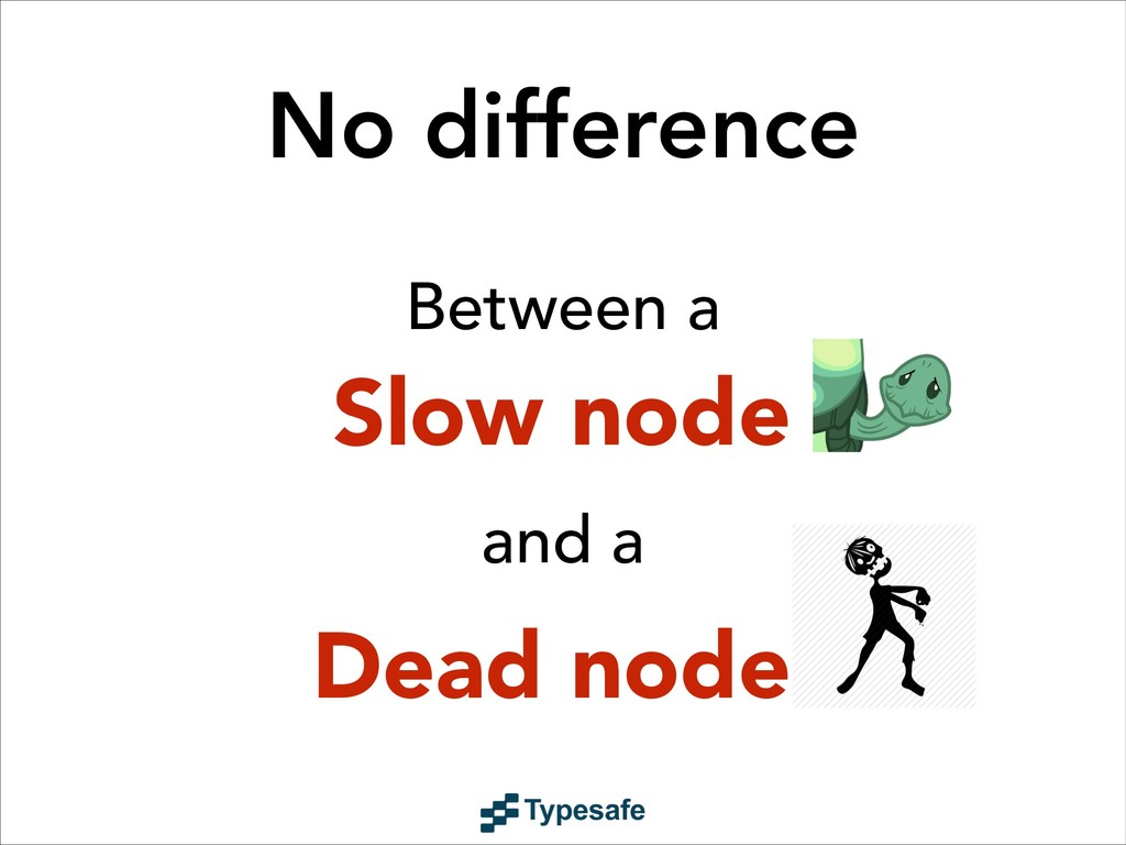 Slow node ! Dead node No difference and a Betwe...