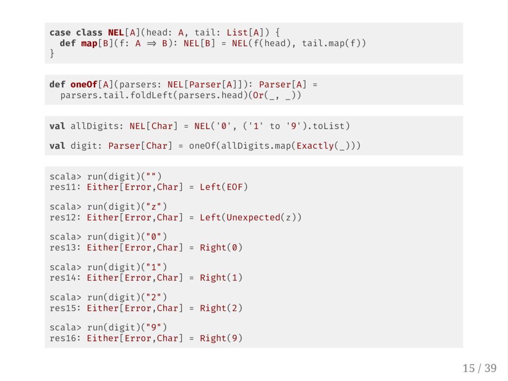 case class NEL[A](head: A, tail: List[A]) { def...