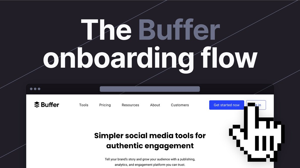 The Buffer onboarding flow