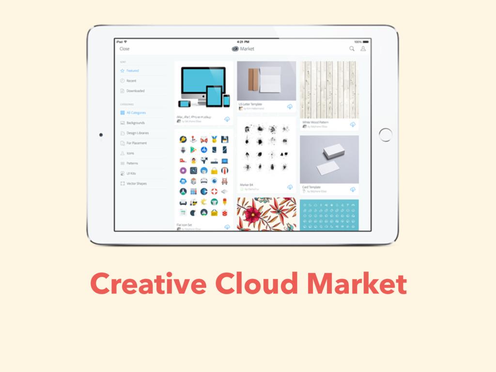 Creative Cloud Market