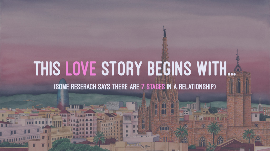 THIS LOVE STORY BEGINS WITH... (SOME RESERACH S...