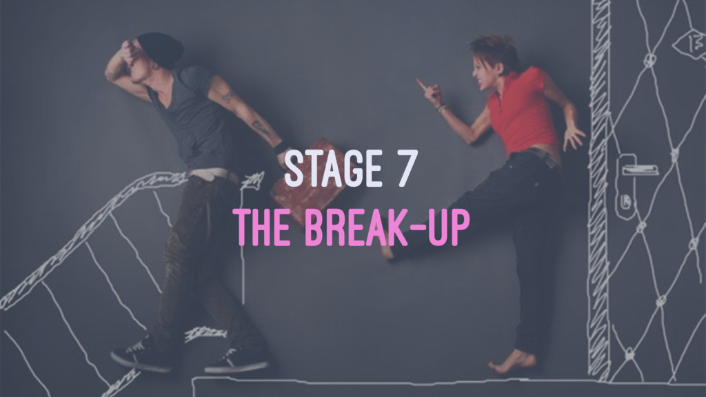 STAGE 7 THE BREAK-UP