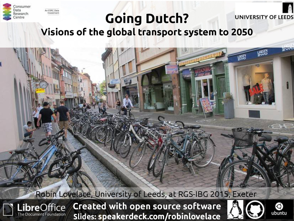 Going Dutch? Visions of the global transport sy...