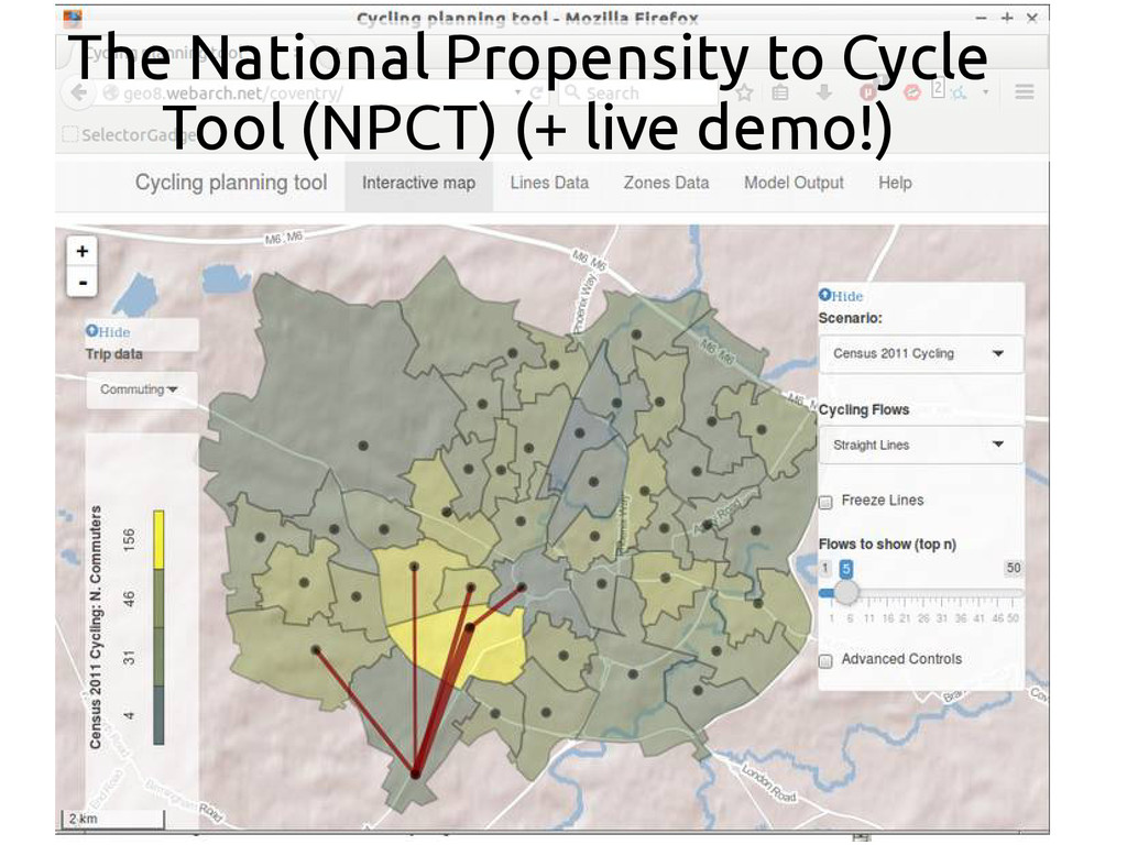 The National Propensity to Cycle Tool (NPCT) (+...