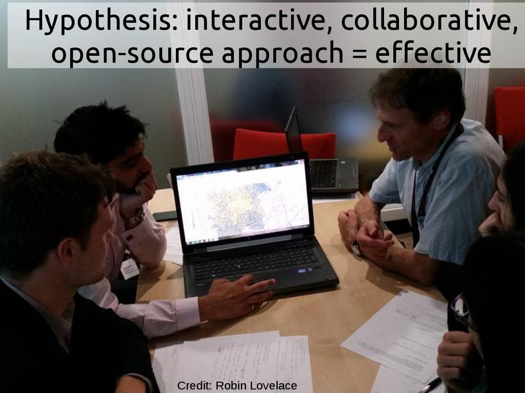 Hypothesis: interactive, collaborative, open-so...