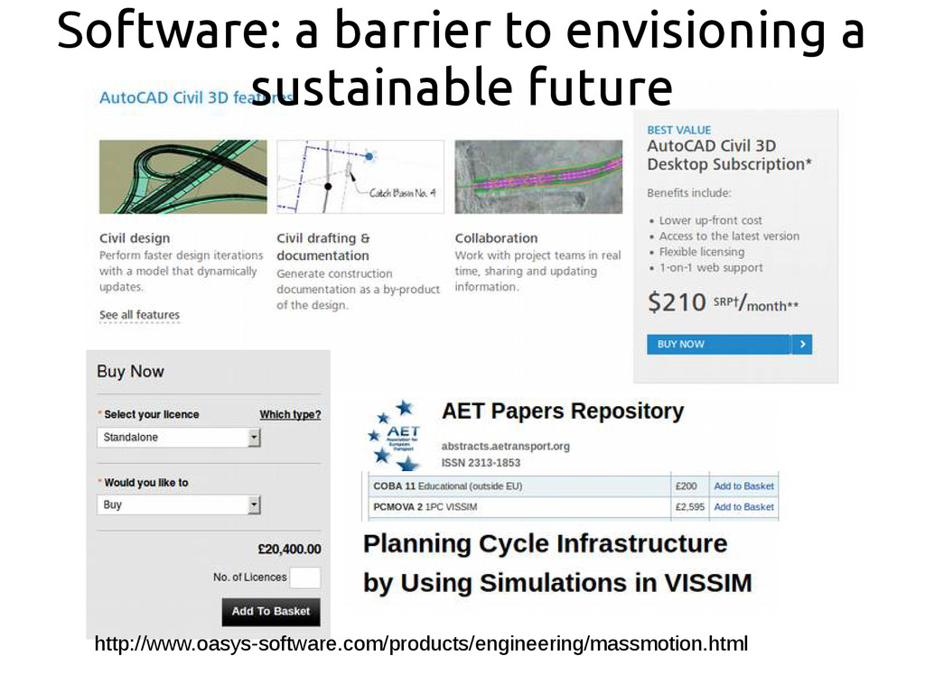 Software: a barrier to envisioning a sustainabl...