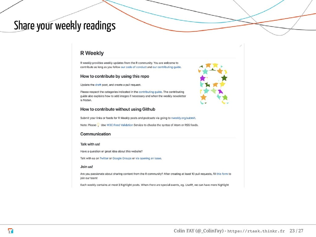 Share your weekly readings Colin FAY (@_ColinFa...