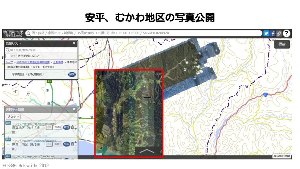 FOSS4G Hokkaido 2019 安平、むかわ地区の写真公開