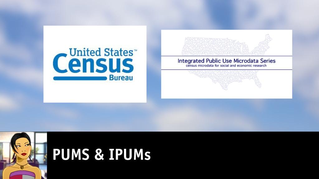 PUMS & IPUMs