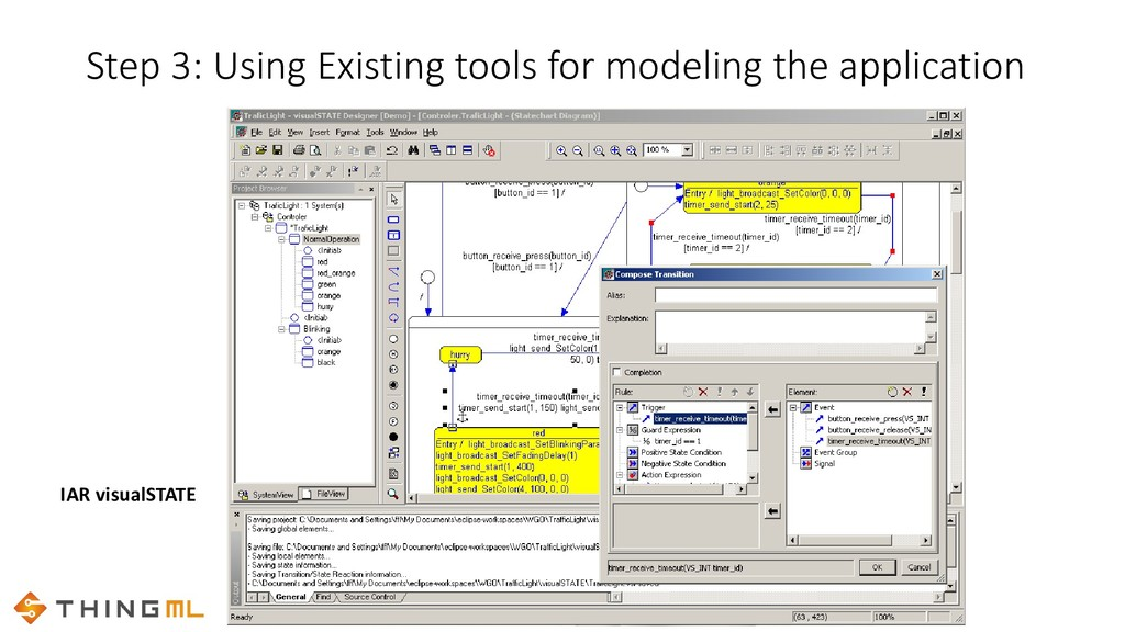 Step 3: Using Existing tools for modeling the a...