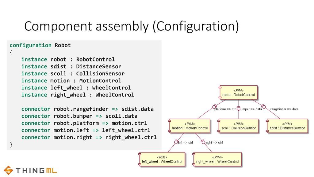 configuration Robot { instance robot : RobotCon...
