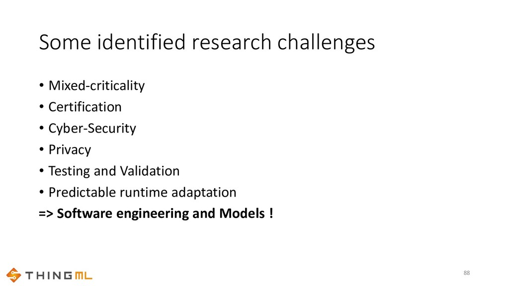 Some identified research challenges • Mixed-cri...