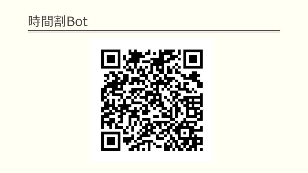 時間割Bot