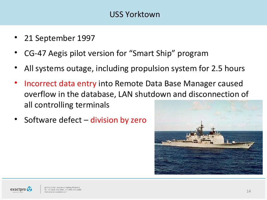 USS Yorktown • 21 September 1997 • CG-47 Aegis ...