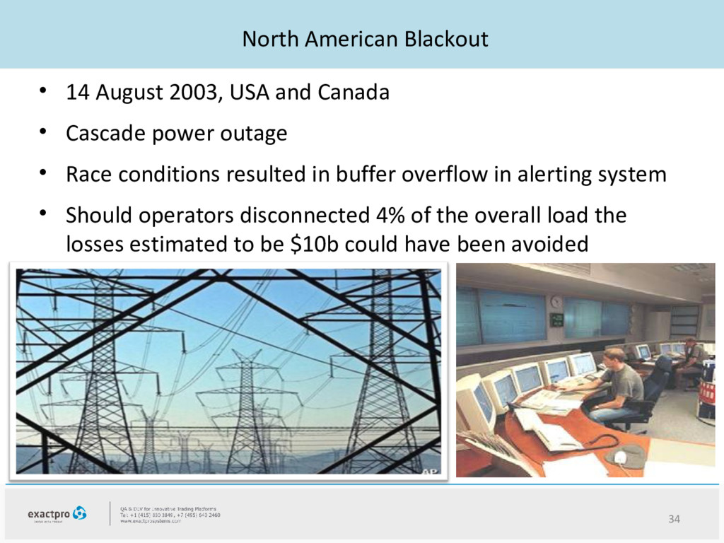 North American Blackout • 14 August 2003, USA a...
