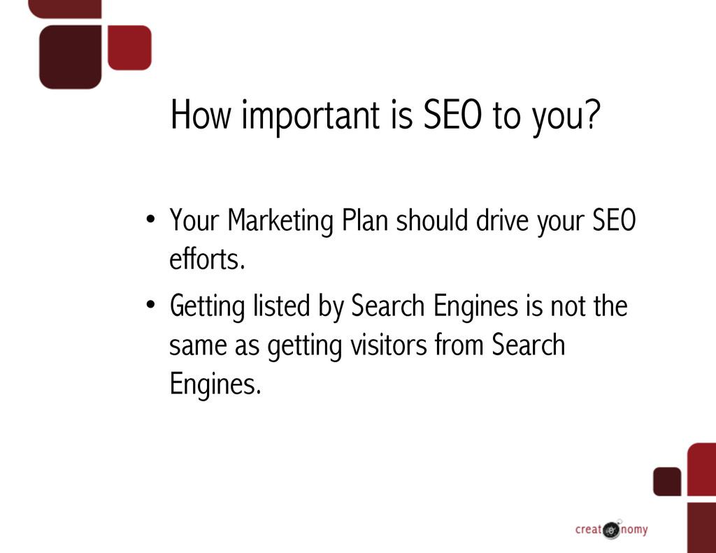 How important is SEO to you? • Your Marketing ...