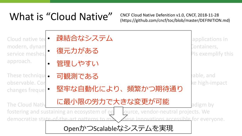 Cloud native technologies empower organizations...