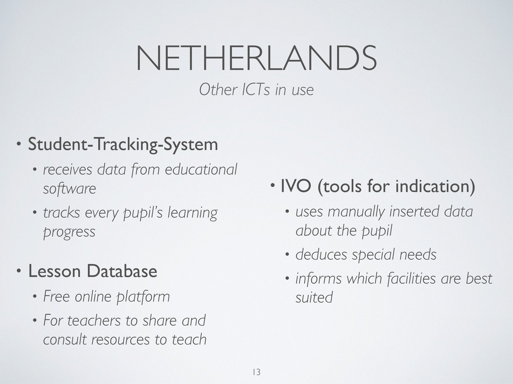 NETHERLANDS • Student-Tracking-System • receive...
