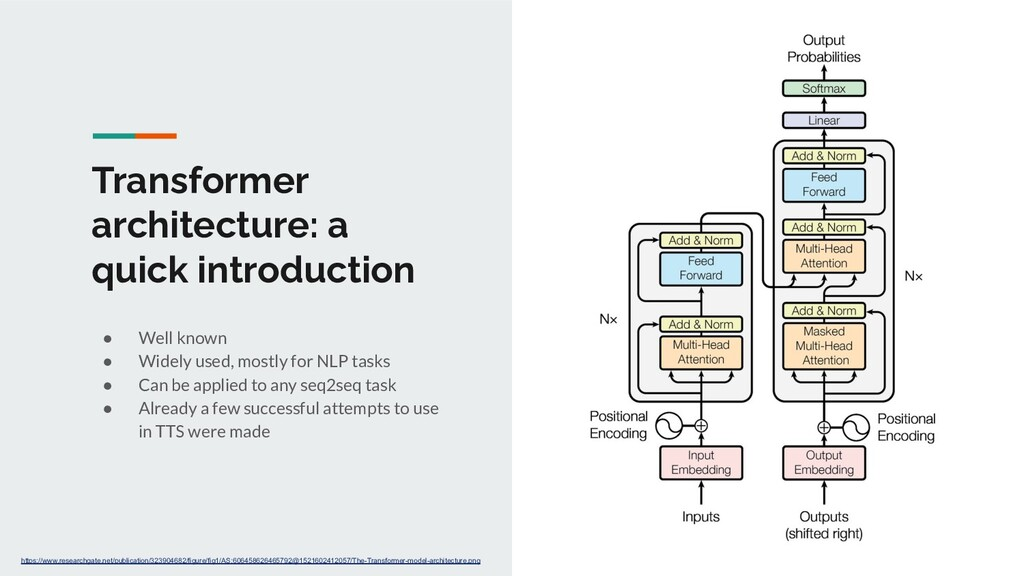 Transformer architecture: a quick introduction ...