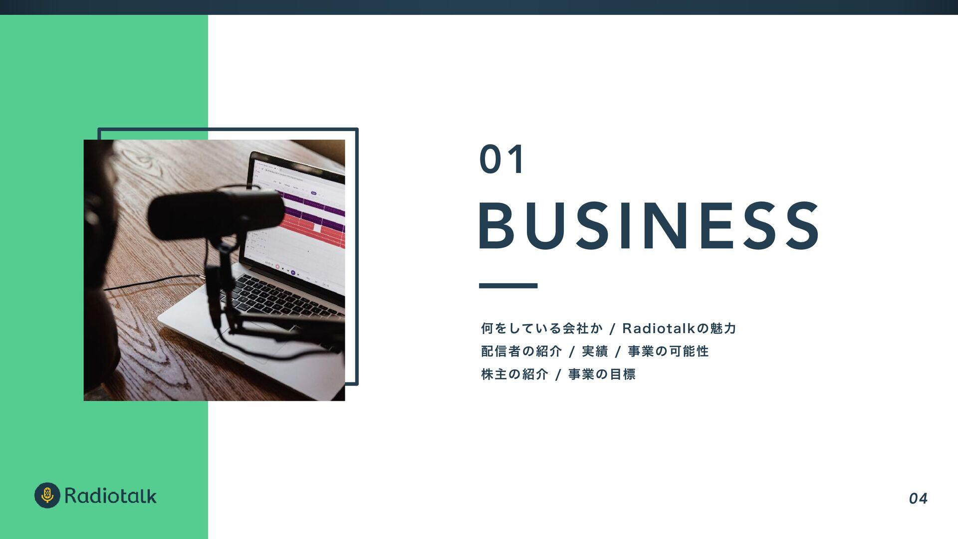 BUSINESS ԿΛ͍ͯ͠Δձ͔ࣾ3BEJPUBMLͷັྗ τʔΧʔͷհ࣮...