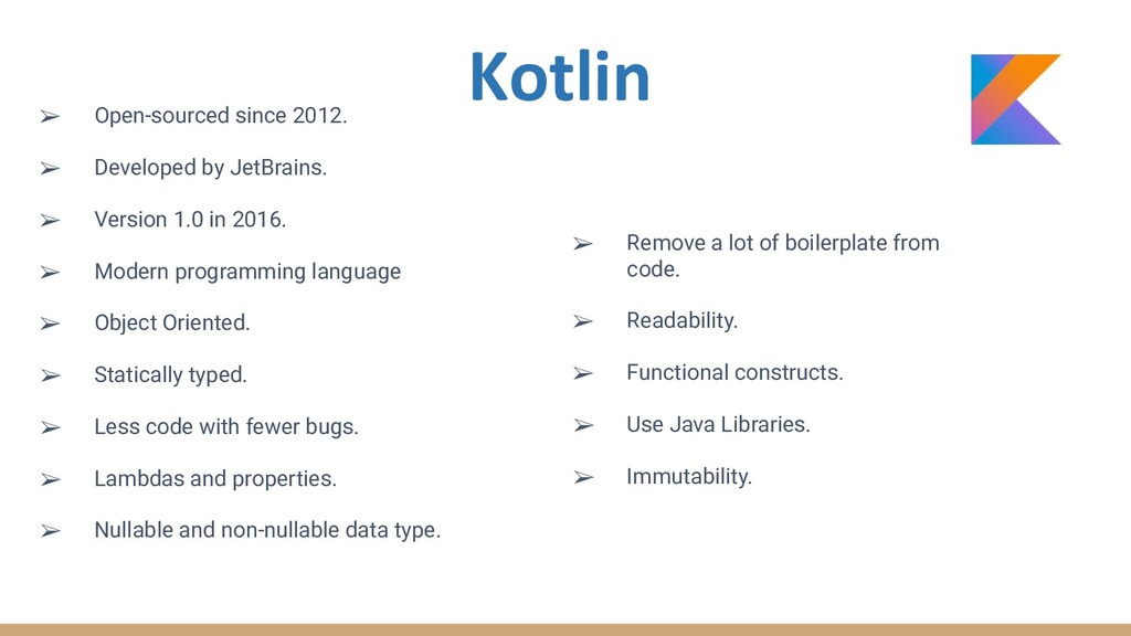 ➢ Open-sourced since 2012. ➢ Developed by JetBr...