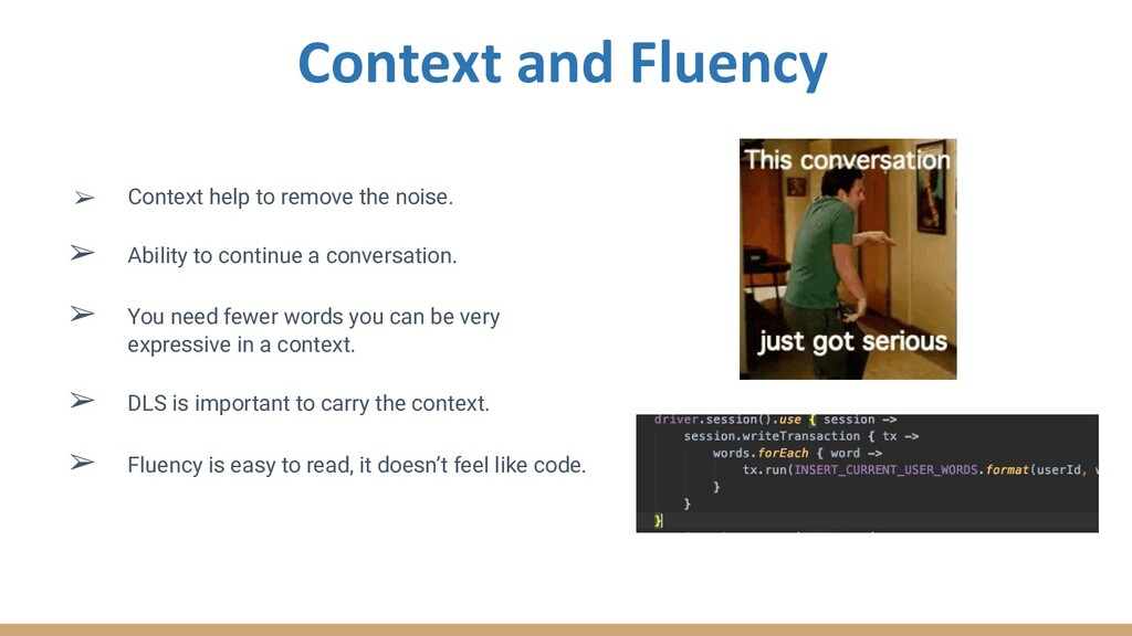 ➢ Context help to remove the noise. ➢ Ability t...