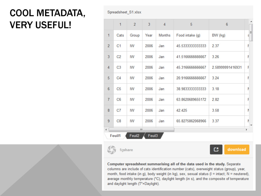 COOL METADATA, VERY USEFUL!