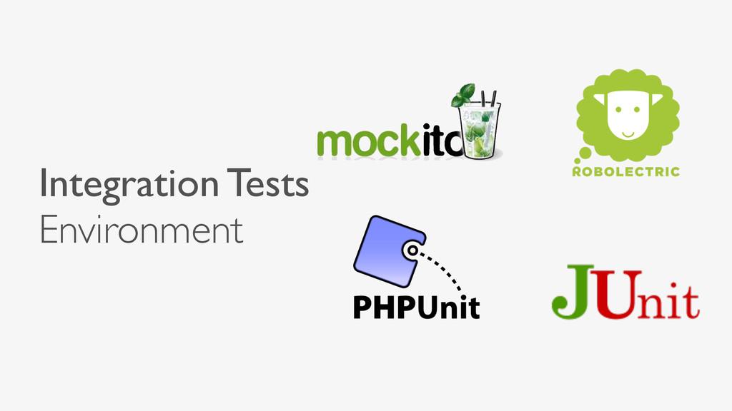 Integration Tests Environment