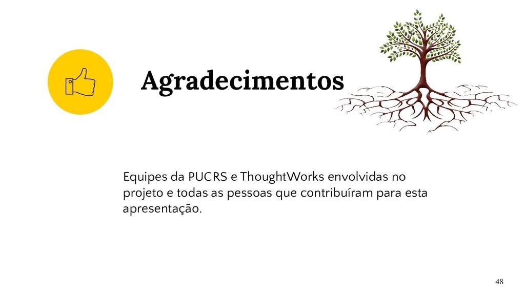 Equipes da PUCRS e ThoughtWorks envolvidas no p...