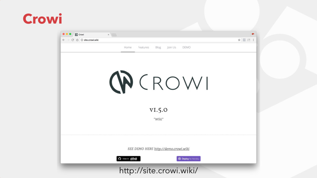 Crowi http://site.crowi.wiki/