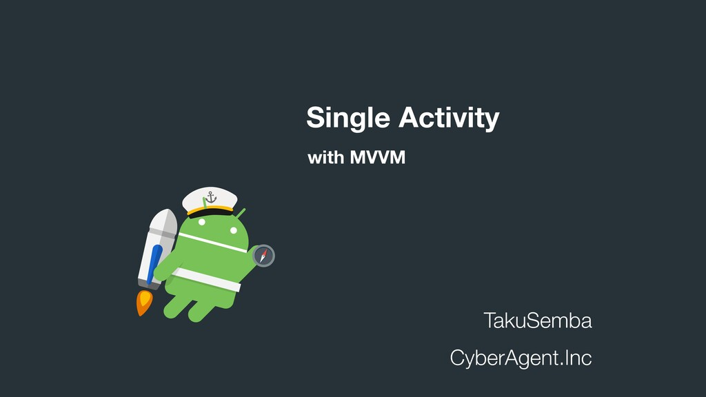 TakuSemba CyberAgent.Inc Single Activity with M...