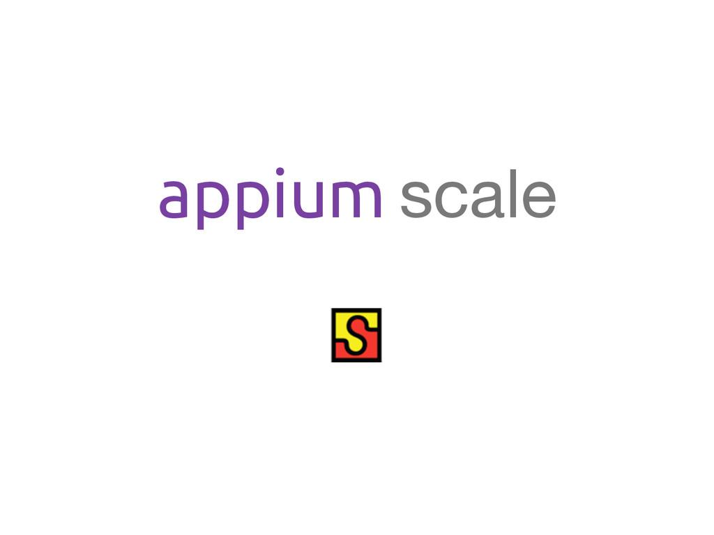 appium scale