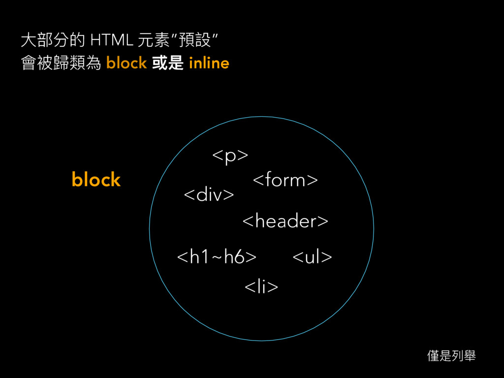 "य़蟂獤ጱ HTML زᔰ""毆戔"" 䨝ᤩ稳觊傶 block ฎ inline block <p..."