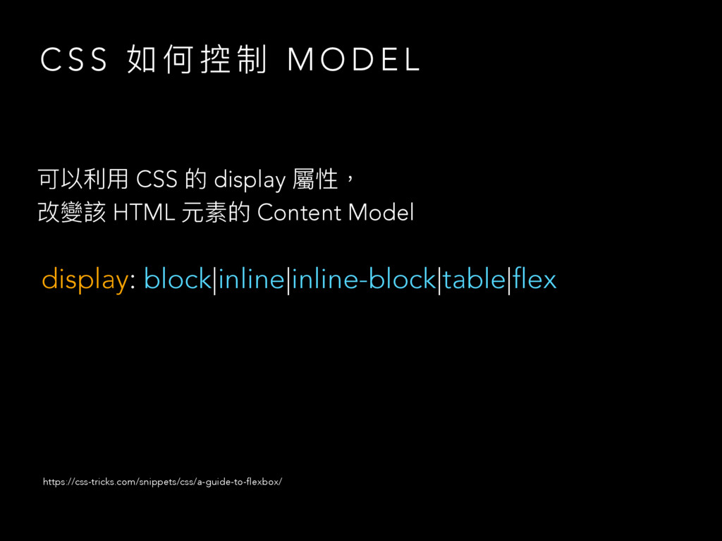 C S S ই ֜ 矒 ګ M O D E L ݢ犥ڥአ CSS ጱ display 痀牧 ...