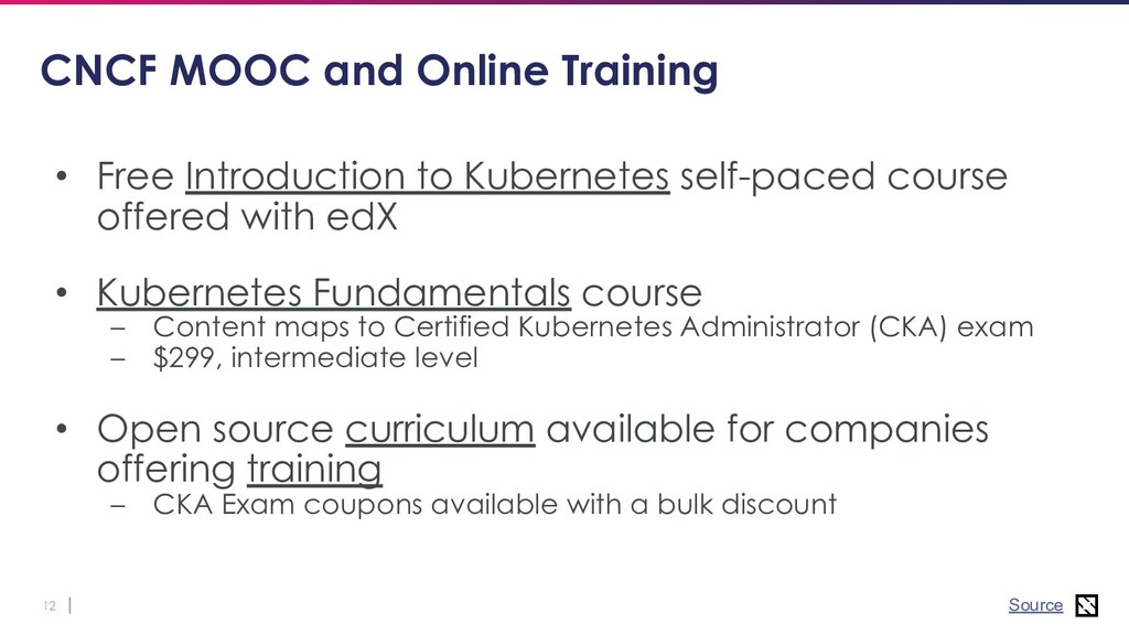 12 CNCF MOOC and Online Training • Free Introdu...