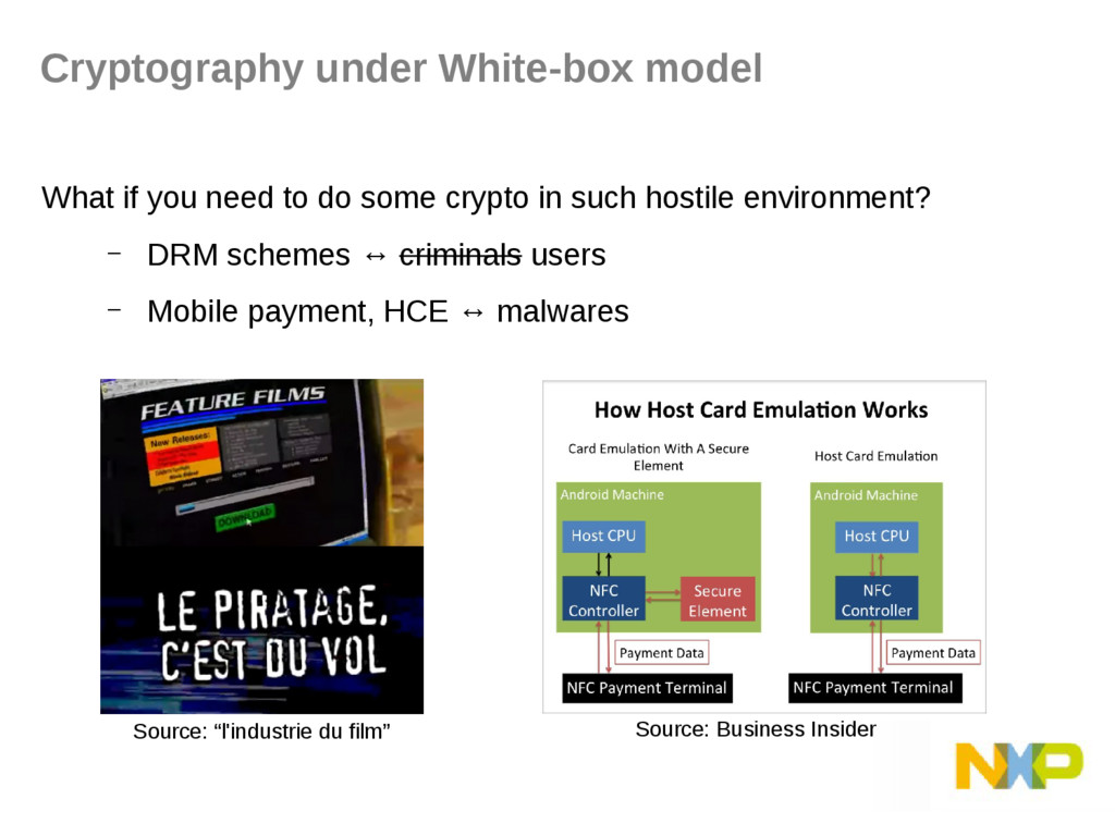 What if you need to do some crypto in such host...