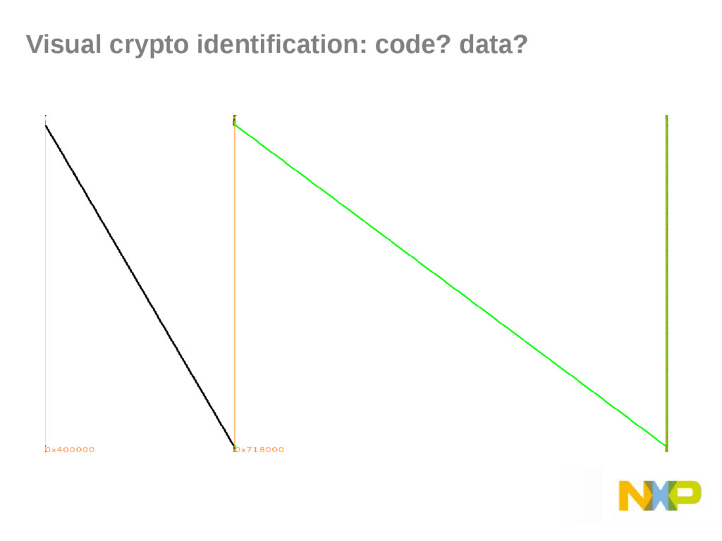 Visual crypto identification: code? data?