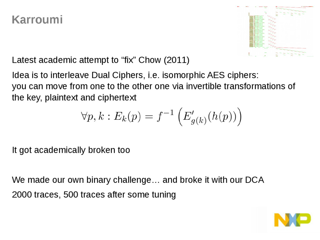 """Karroumi Latest academic attempt to """"fix"""" Chow ..."""