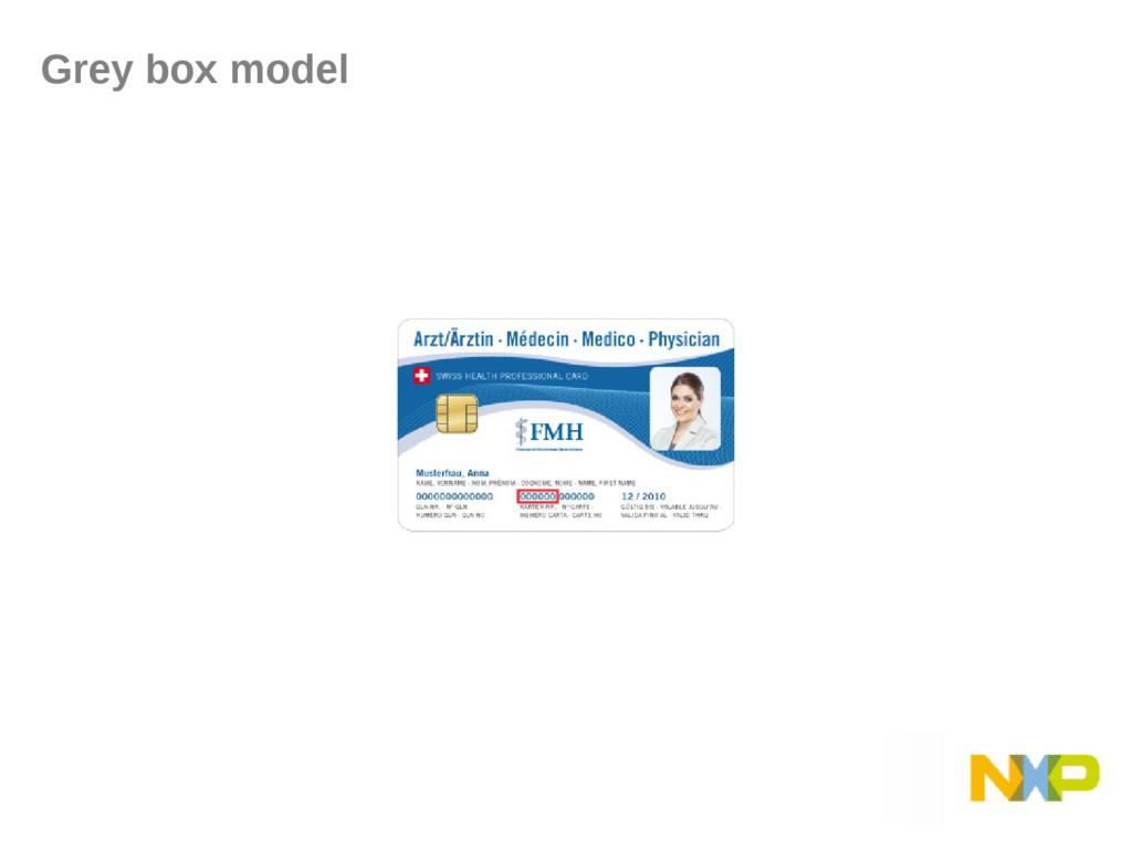 Grey box model