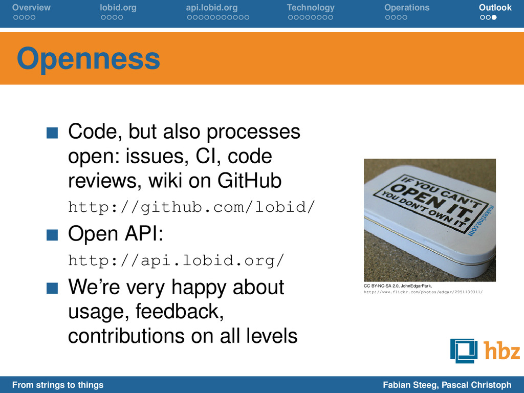 Overview lobid.org api.lobid.org Technology Ope...