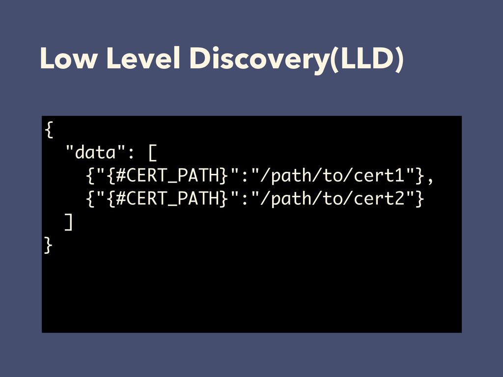 "{ ""data"": [ {""{#CERT_PATH}"":""/path/to/cert1""}, ..."
