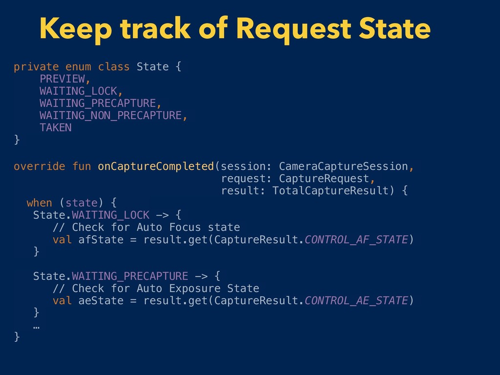 private enum class State { PREVIEW, WAITING_LOC...