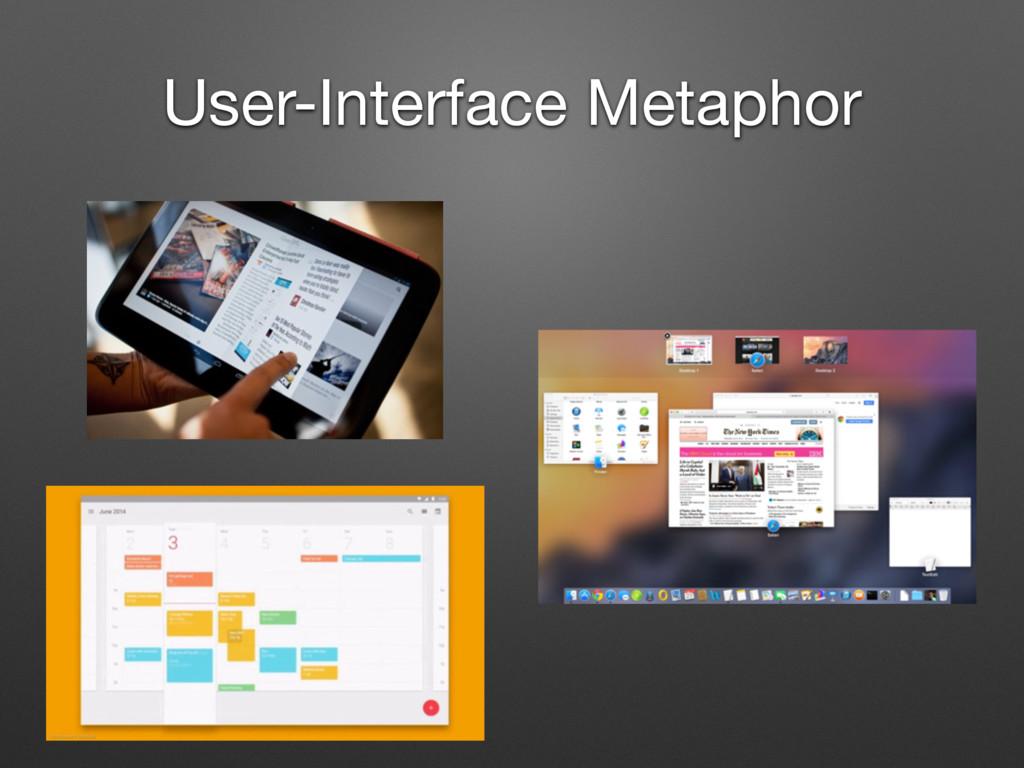 User-Interface Metaphor