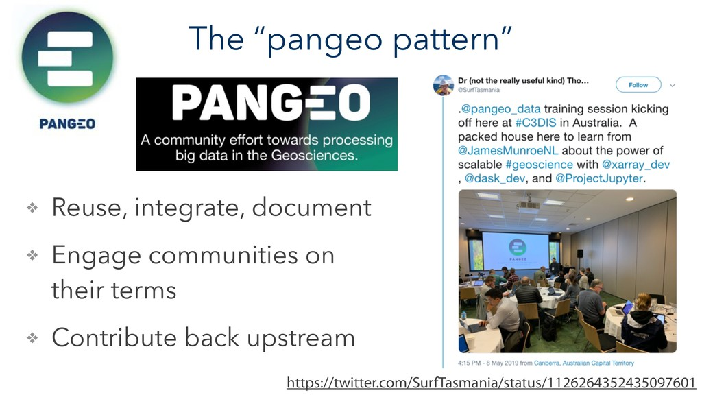 "The ""pangeo pattern"" https://twitter.com/SurfTa..."