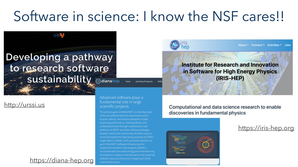 Software in science: I know the NSF cares!! htt...