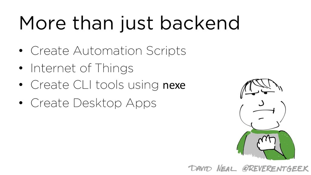 More than just backend • Create Automation Scri...