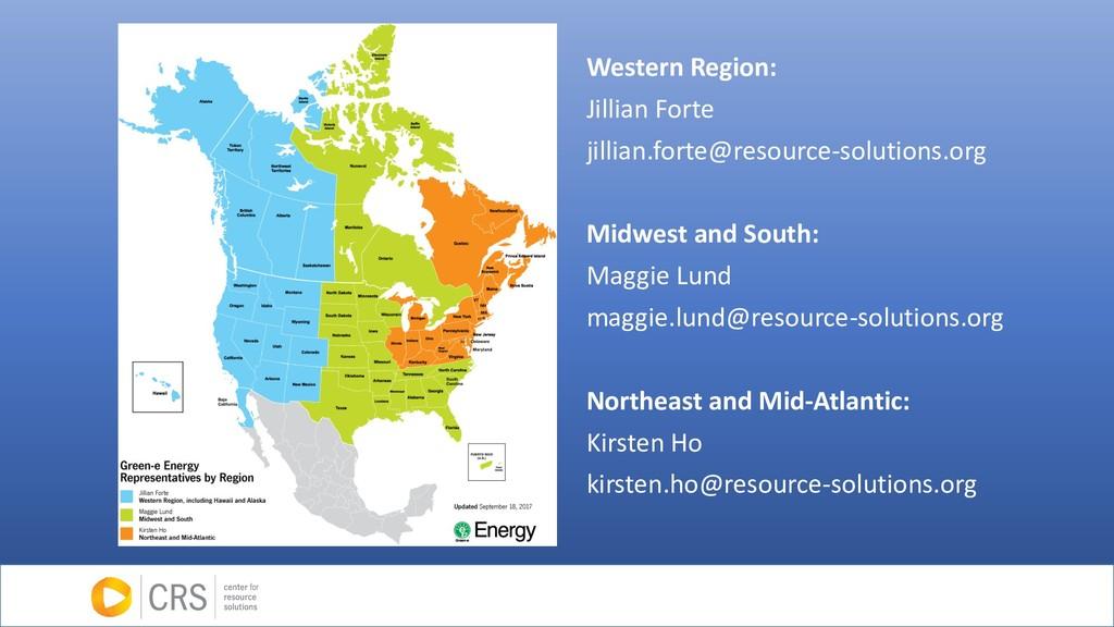 Western Region: Jillian Forte jillian.forte@res...