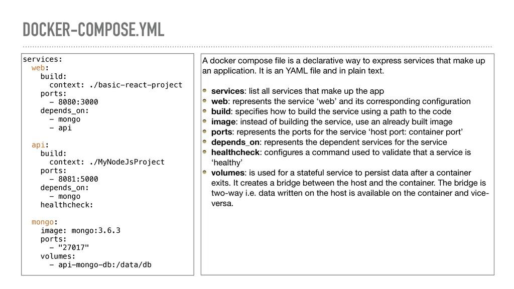 DOCKER-COMPOSE.YML services: web: build: contex...